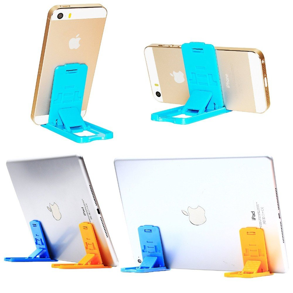 Universal Flexible/Home Mobile Phone/Mobile Holder Stand for iPhone/Samsung/Android Mobiles  Color May Vary  2pcs