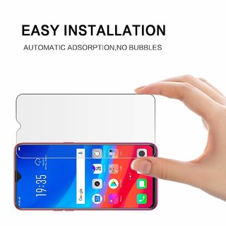 Tempered Glass Flexible Screen Guard For Oppo F9