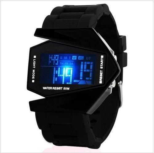 NEW SKMEI Rocket Digital Watch In Multicolor Light Dial   For Men Kids BOYS