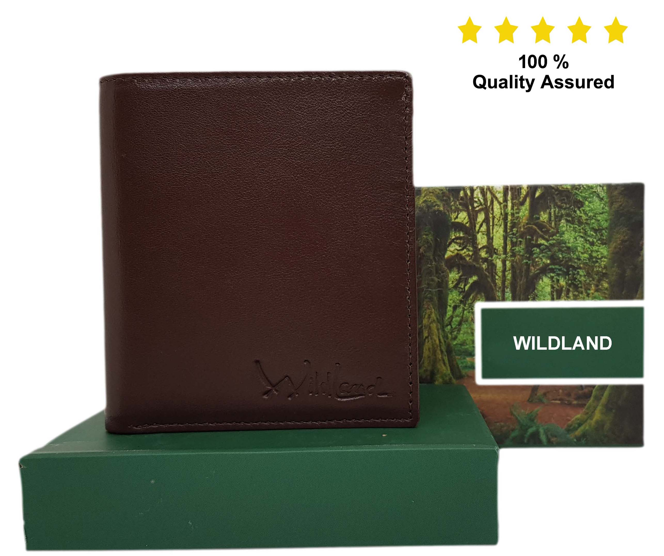 Wildland Men Brown Artificial Leather Wallet  Synthetic leather/Rexine
