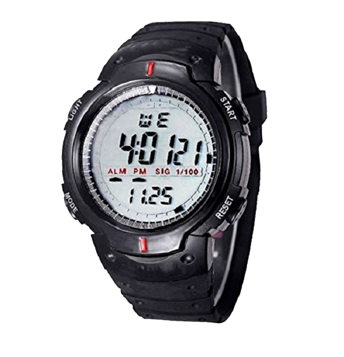 EDEAL Sports Digital Black Dial Watch with Stopwatch, Alarm For Men's and Boy's   EDLEDUW007