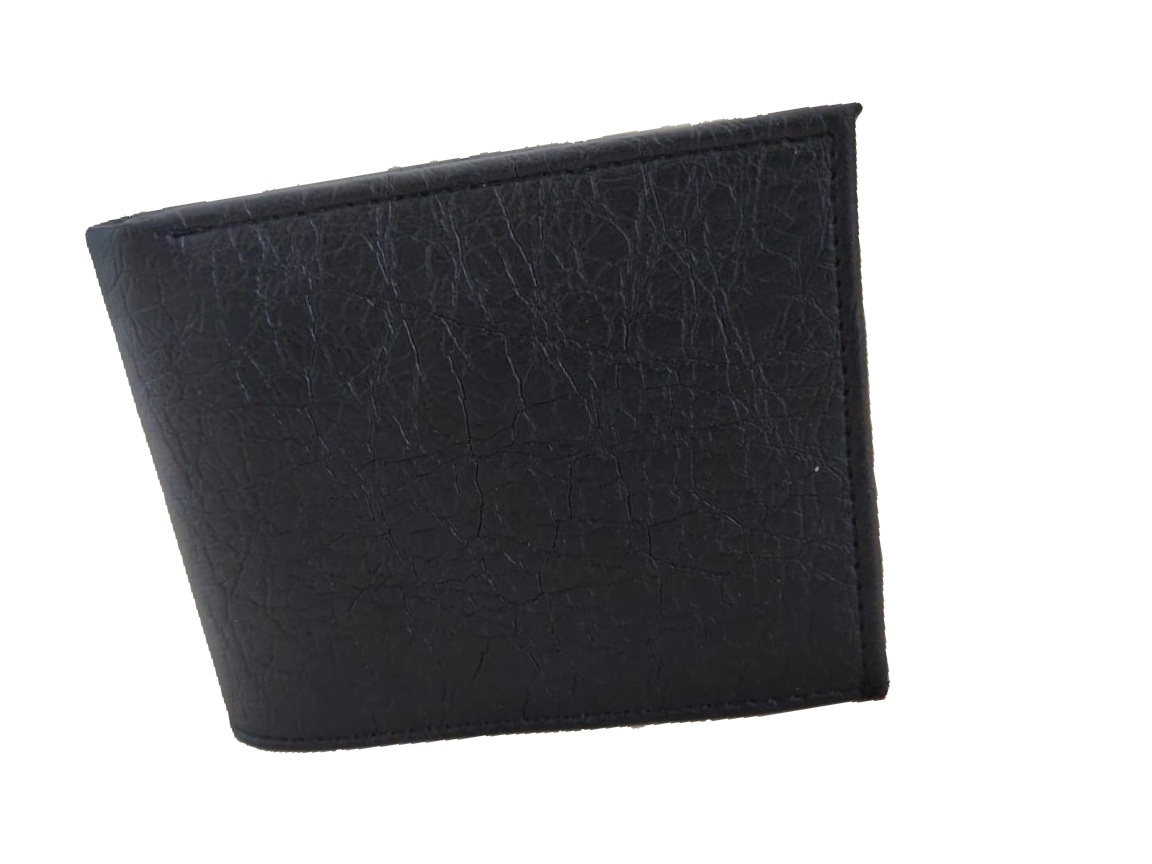 T.R. Leathers black men wallet  Synthetic leather/Rexine