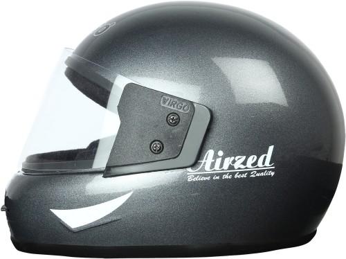 Virgo Airzed Motorbike Helmet  AirzedS BlackGlossyClear