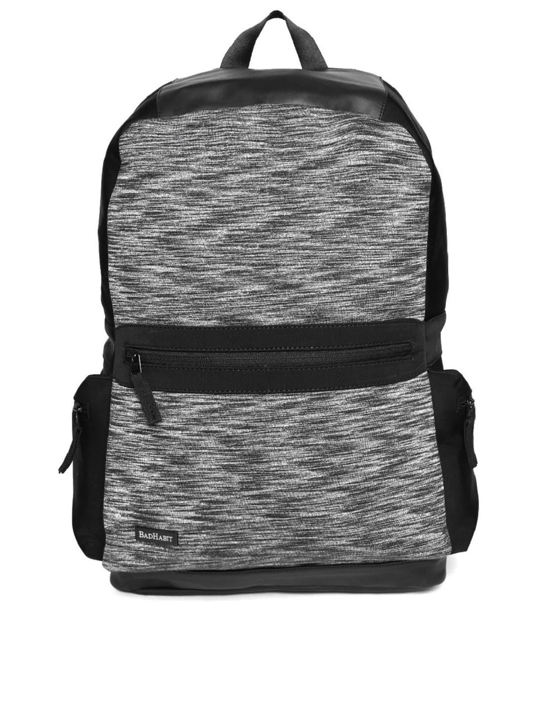 Bad Habit Polyester 12 L Multi Colour Unisex Bags