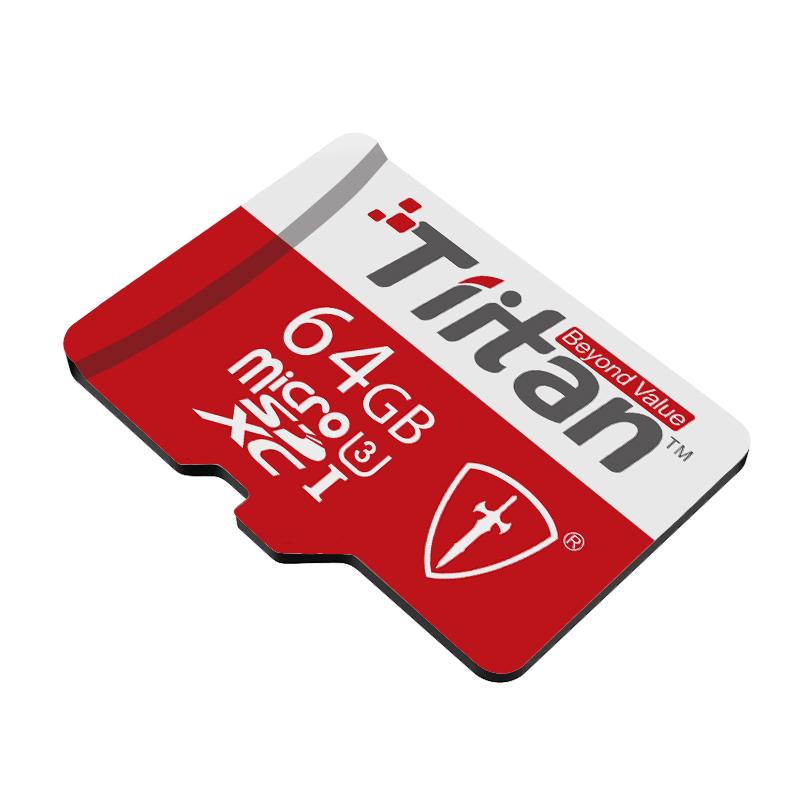 Tiitan 64  GB Class 10 MicroSDHC Card