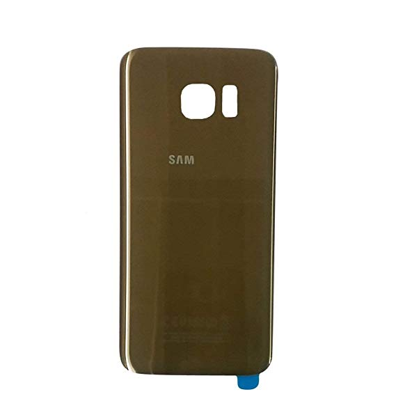 Samsung Galaxy S7 Edge Glass Back Panel Gold
