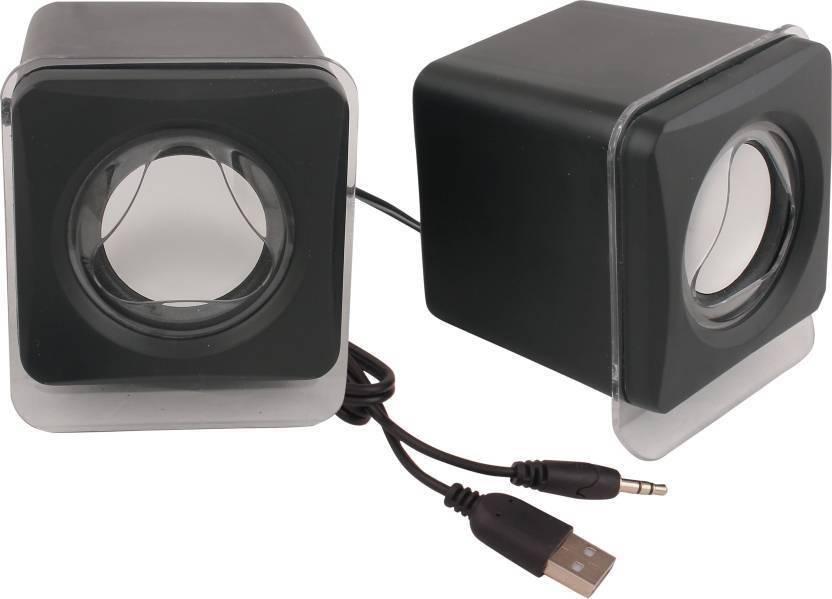 SBA ENTICE USB 2.0 Mini  Black 2.0 Channel  Portable Laptop/Desktop Speaker Black, Mono Channel