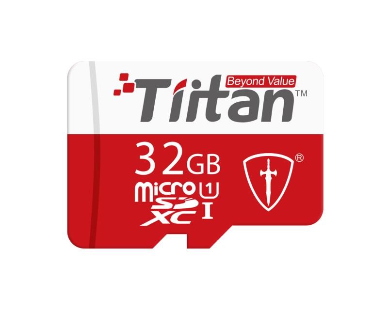 Tiitan 32  GB Class 10 MicroSD Card/ Speed up to 100 MB/s