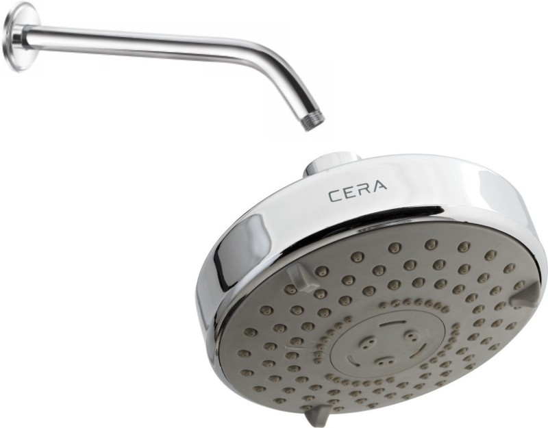 Cera   Overhead Shower 120 Mm  5  With 3 Flow With Shower Arm 305 Mm  12  With Wall Flange