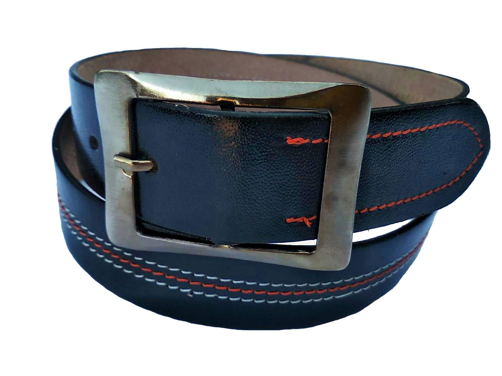 Forever99 Men's Leather Belts   Handmade Leather Belts leather belt for men formal branded #Black