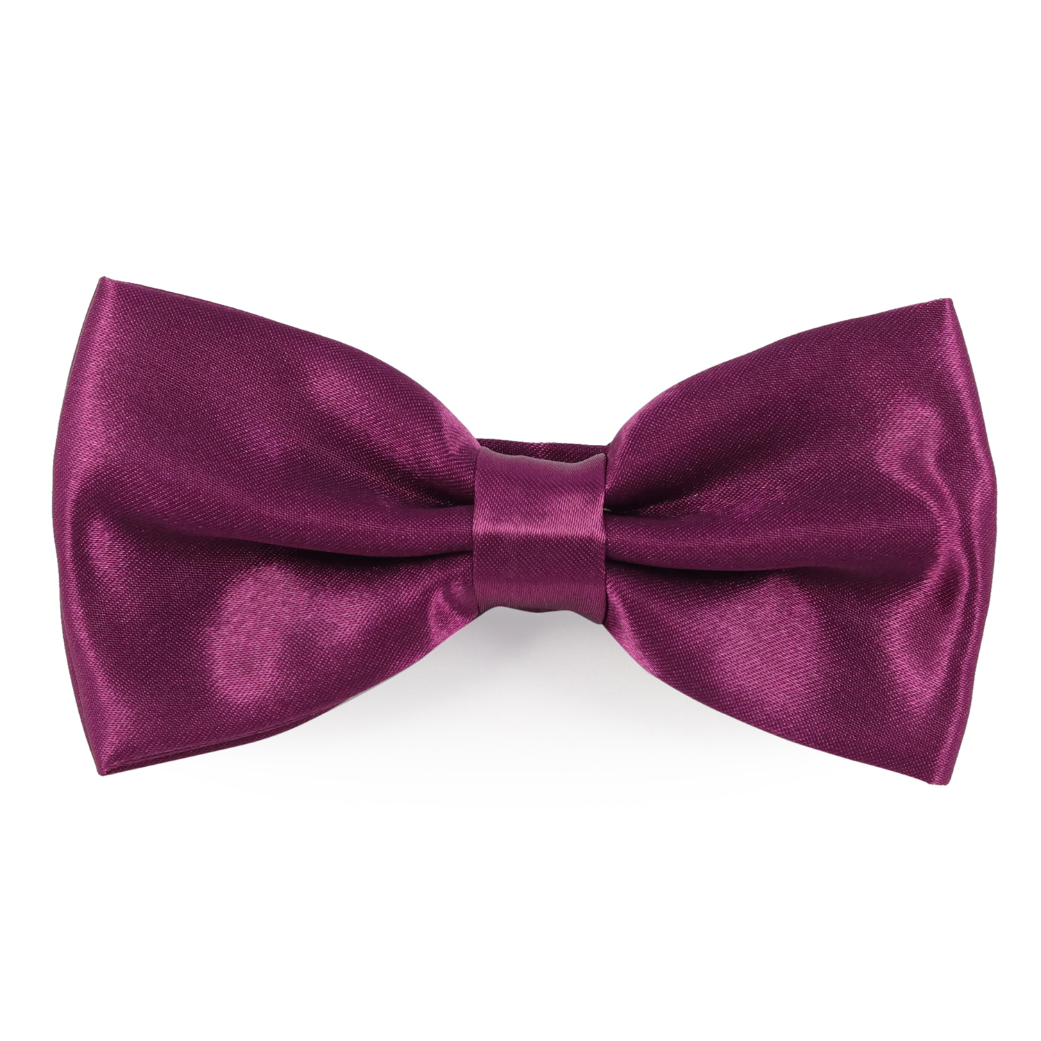 69th Avenue Men's Purple Polyester Free Size Pre Tied Bow Tie