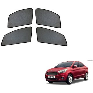Auto Addict Half Magnetic Car Sunshades Curtain For Ford Figo Aspire