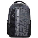 American Tourister Black And Grey Laptop Bag/ Backpacks