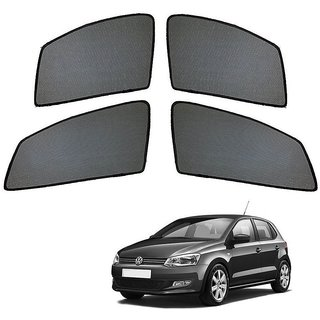 Auto Addict Half Magnetic Car Sunshades Curtain For Volkswagen Polo
