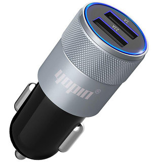 Car charger, double/family fast mobile charger,Laptop Charger / Inverter USB Quick Car Charger 2 IN 1