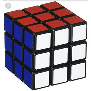 3x3x3 Puzzle Cube, Color and Design May Vary