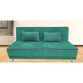 Houzzcraft Alto sofa cum bed green