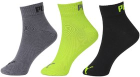 Puma Unisex Ankle Socks - Pack of 3