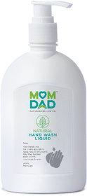 MomDad NATURAL HAND WASH LIQUID-InstantSanitizer
