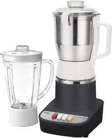 Impex SMASH 800 MILL 2 IN 1 Mixer Grinder with 2 Jars  (800 Watts - Gray)