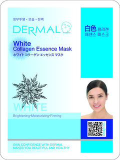 White Collagen Mask for skin brightening and Firming (Pack of 1)