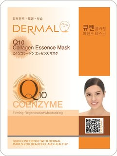 Q10 Collagen Mask for firming and regeneration of skin (Pack of 1)