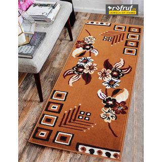 Rufruf Home Furnishing Carpet, Floor Covering Carpet For Kids Room, Non Fringe Rug Design Modern Camel Or Brown