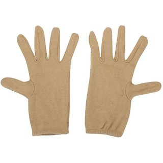 Ramanta Men's and Women's Hand Gloves - Beige