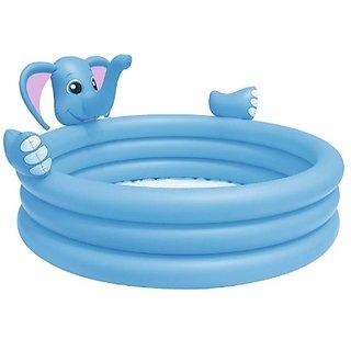 MDN Inflatable Kids Elephant Spray Pool/ Water Pool/ Kiddie Pool/ Baby Pool/ Family Pool