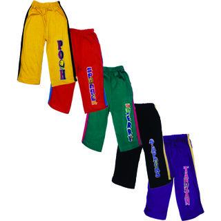 Om Shree Kids Track Pant Pack of 5