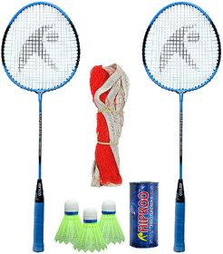 Hipkoo HR 15 Badminton Combo With Badminton Bag Badminton Kit