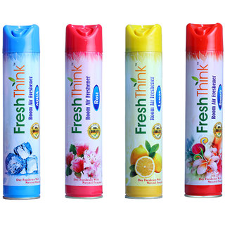 Freshthink Room Air freshener 300ml Pack of 4