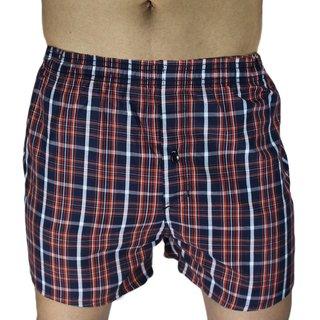 Neska Moda Men Cotton Multicolor Boxer With 1 Back Pocket XB15