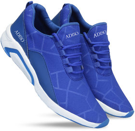 Adiso Men's Blue Sports Shoes