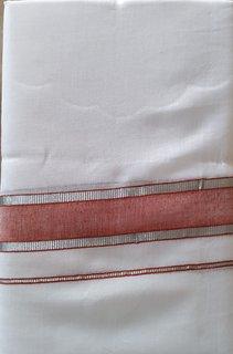 Fashionkiosks Mens Traditional  Colour  Border Dhoti