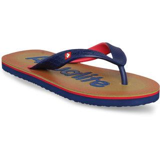 Buy Aqualite Men Beige Casual Slippers