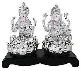 Laxmi Ganesh ji silver 10gm idol By CEYLONMINE