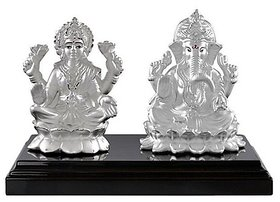Idol laxmi Ganesh 10gm silver idol  For Pooja - CEYLONMINE