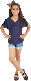 vero chica casual summer georgette dress for kids(girls)