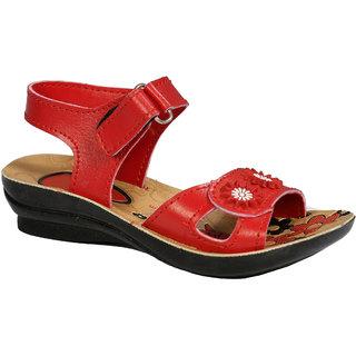 Red Sandal For Girls