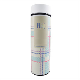Home Story Double Wall Vacuum Flask  Insulated Thermos Travel Water Bottle - (PURE)