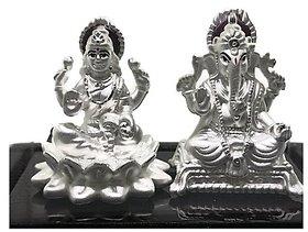 Silver idol laxmi ganesh 10gm idol silver - CEYLONMINE