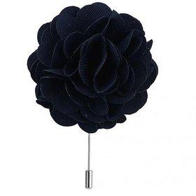 House of Quirk Handmade Flower Brooch Brooch(Blue)