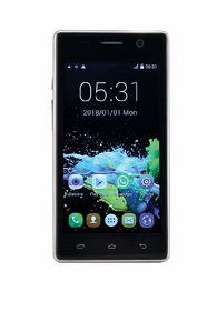 Tashan TS-411 -(512MB RAM 4GB ROM) White Gold  Android 5 Inch Android Dual Sim, 4G Smartphone