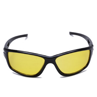 Meia Yellow Night Drive Sunglasses