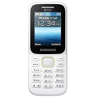Samsung Guru Music 2 (Dual Sim, 2.0 Inch Display, 800 Mah Battery, White)