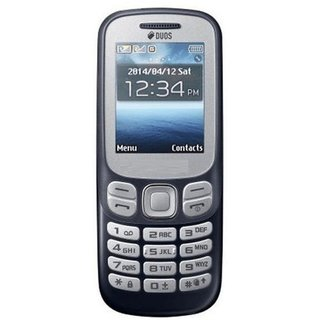 MTR 312 1.8 inches (4.57 cm) Dual Sim Blue Feature Phone (Guru) with Vibration Function (6 Months Warranty)
