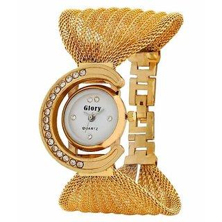 FancyLook Glory Golden Strap Womens Wrist Watch