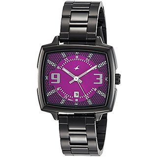 Fastrack Loopholes Analog Silver Dial Womens Watch-6167NM01