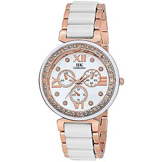 LEBENZEIT Fashion iik Bracelet Wrist watch for Women